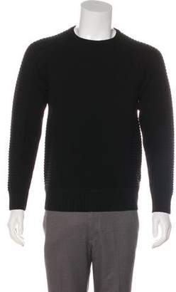 Givenchy Rib Knit Crew Neck Sweater