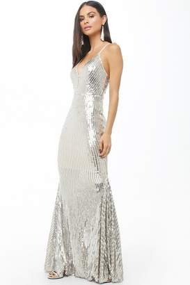 Forever 21 Sequin Homecoming Gown