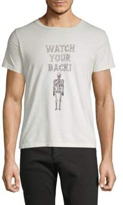 Remi Relief Watch Your Back Skeleton Graphic Tee