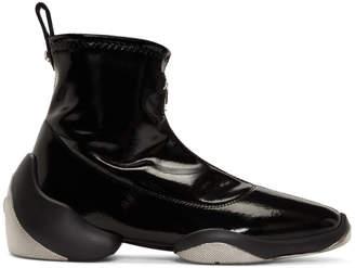 Giuseppe Zanotti Black Light Jump HT3 High Top Sneakers