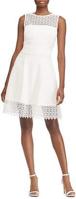 Lauren Ralph Lauren Lace Inset Dress