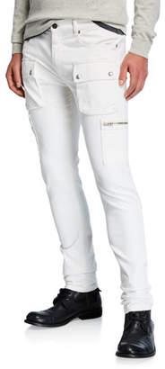 Belstaff Men's Fremont Skinny Denim Cargo Pants