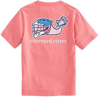 Vineyard Vines Boys Lax Bro Whale Pocket T-Shirt