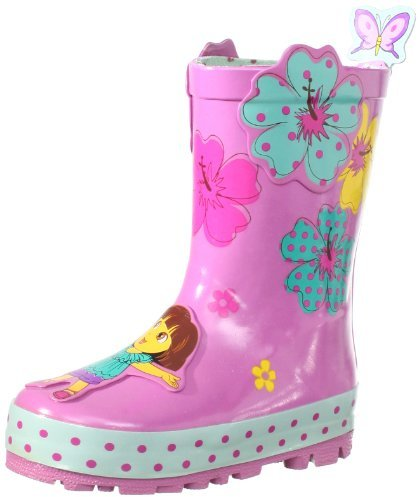 Kidorable Nickelodeon Little Girls'Dora Rain Boots