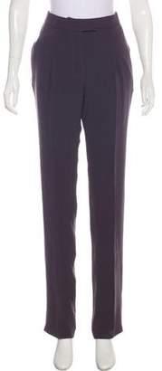 Haider Ackermann High-Rise Silk Pants