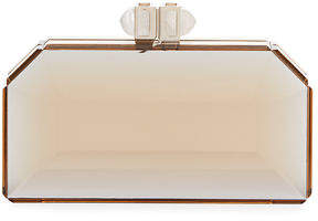 Judith Leiber Couture Faceted Box Clutch Bag