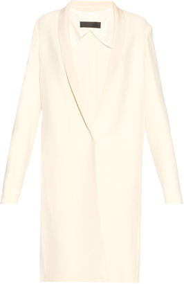 HAIDER ACKERMANN Momu single-breasted crepe coat $2,855 thestylecure.com