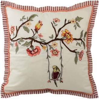 """Waverly Retweet 18"""" Embroidered Decorative Accessory Pillow"""