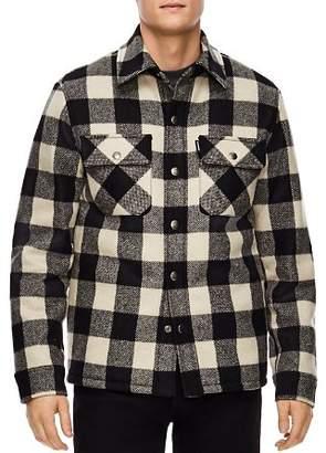 Sandro Lumber Buffalo-Check Shirt Jacket