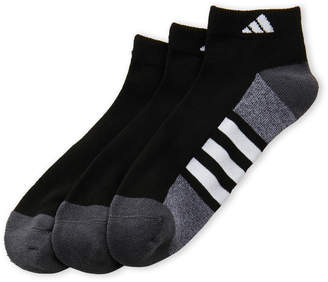 adidas 3-Pack Low-Cut Cushioned Socks