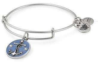 Alex and Ani Anchor Color Infusion Expandable Charm Bracelet