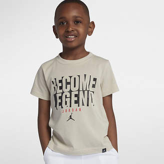 "Nike Jordan Dri-FIT ""Become Legend"" Little Kids' (Boys') T-Shirt"