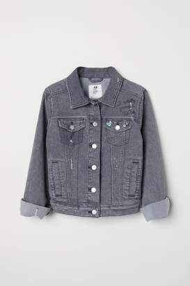 H&M Denim Jacket - Gray