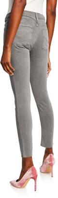 Hudson Krista Raw-Hem Ankle Skinny Jeans