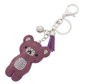 Mudd Tasseled Teddy Bear Key Chain