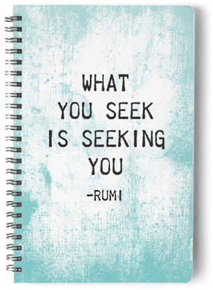 Seeking - Wisdom Series Self-Launch Notebook