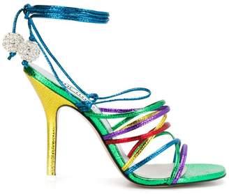 ATTICO heeled strappy sandals