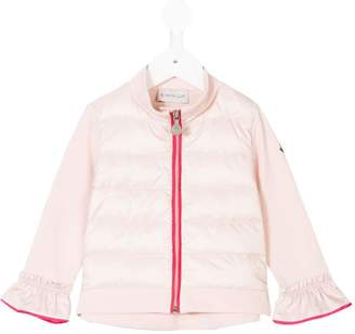 Moncler ruffled cuff padded jacket