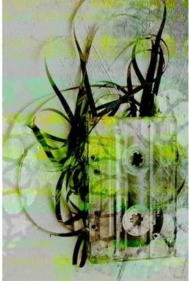 Parvez Taj Tape Art Print on Canvas