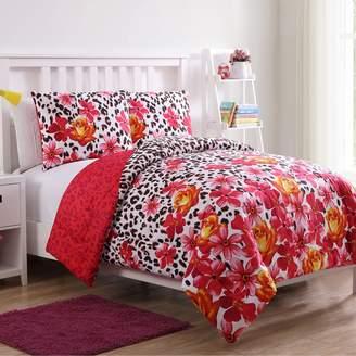Vcny Home VCNY Home Nikki Floral Leopard Comforter Set