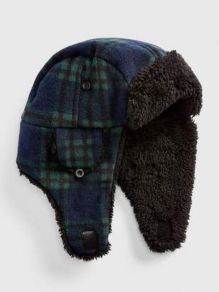 Gap Cozy Flannel Trapper Hat