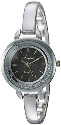 naivo Quartz Stainless Steel and Gold Plated Watch