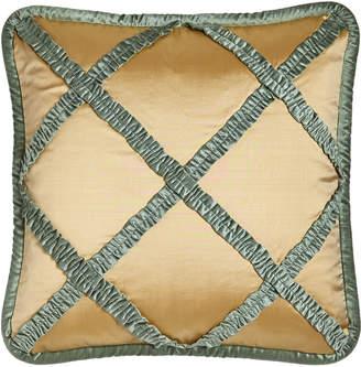 Dian Austin Couture Home Villa di Como Lattice Pillow