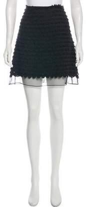 Giamba Tiered Mini Skirt