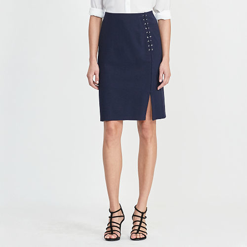 Ralph Lauren Lauren Ponte Pencil Skirt