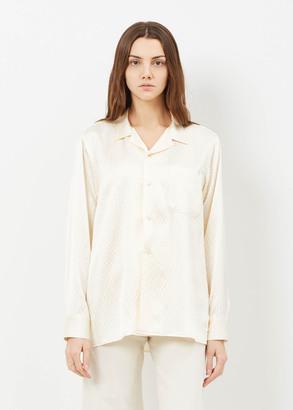 Rachel Comey ivory murmur shirt $414 thestylecure.com