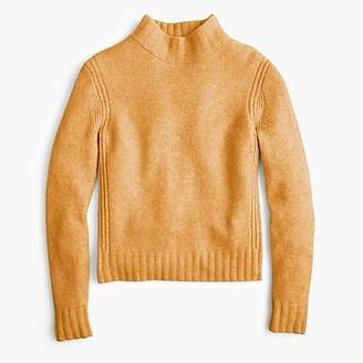 J.Crew Mockneck sweater in supersoft yarn