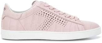 Tod's crocodile effect sneakers