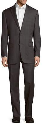 Lauren Ralph Lauren Men's Regular Fit Wool Suit