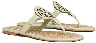 Tory Burch MILLER SCALLOP SANDAL, LEATHER