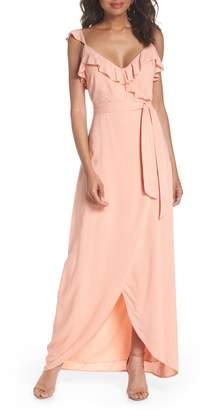 Paige Regina Ruffle Maxi Dress