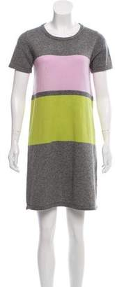 Paule Ka Cashmere-Blend Knit Dress