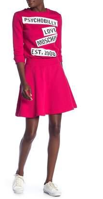 Love Moschino Vestito Maniche Corte Dress