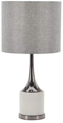 Brimfield & May Modern Concrete and Iron Table Lamp