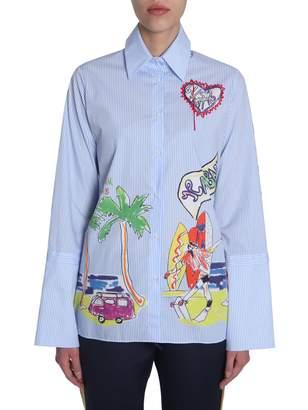 Mira Mikati Venice Beach Printed Shirt