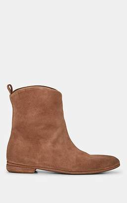 Marsèll Women's Distressed Suede Ankle Boots - Lt. brown