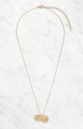 La Hearts Leo Disc Necklace
