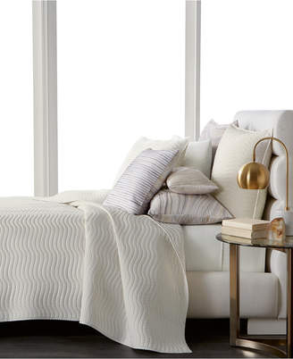 Hotel Collection Agate Pima Cotton Quilted King Coverlet