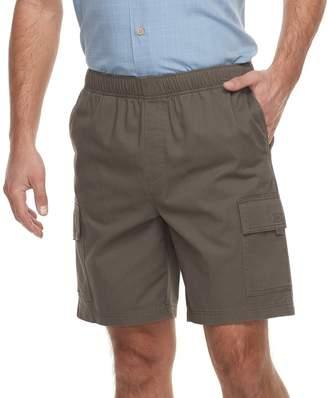 Croft & Barrow Men's Classic-Fit Full-Elastic Twill Cargo Shorts