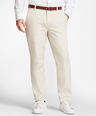 Brooks Brothers Clark Fit Supima Cotton Poplin Stretch Chinos
