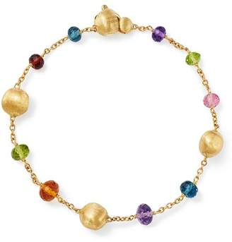 Marco Bicego 18K Yellow Gold Africa Color Multi Gemstone Bracelet - 100% Exclusive