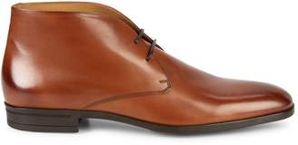 HUGO BOSS Kensington Leather Ankle Boots