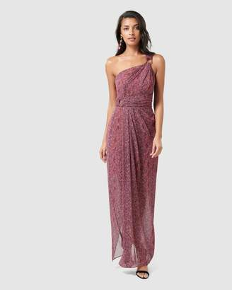 Forever New Shayley D Ring Drape Maxi Dress