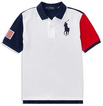 Polo Ralph Lauren Boys' Color-Block Polo - Big Kid