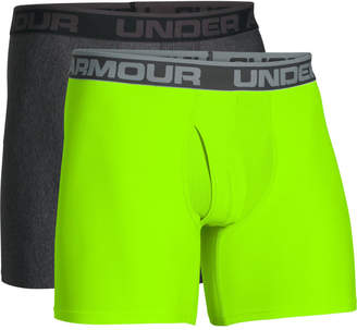 Under Armour Men's 2 Pack O-Series 6 Inch Boxerjock