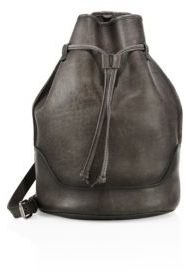 Frye Cara Leather Bucket Bag $398 thestylecure.com